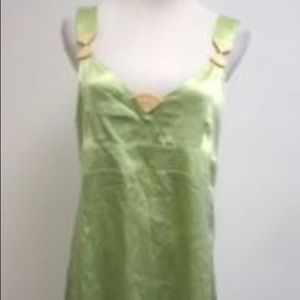 NWT See by Chloe 100% silk sea green colored dress